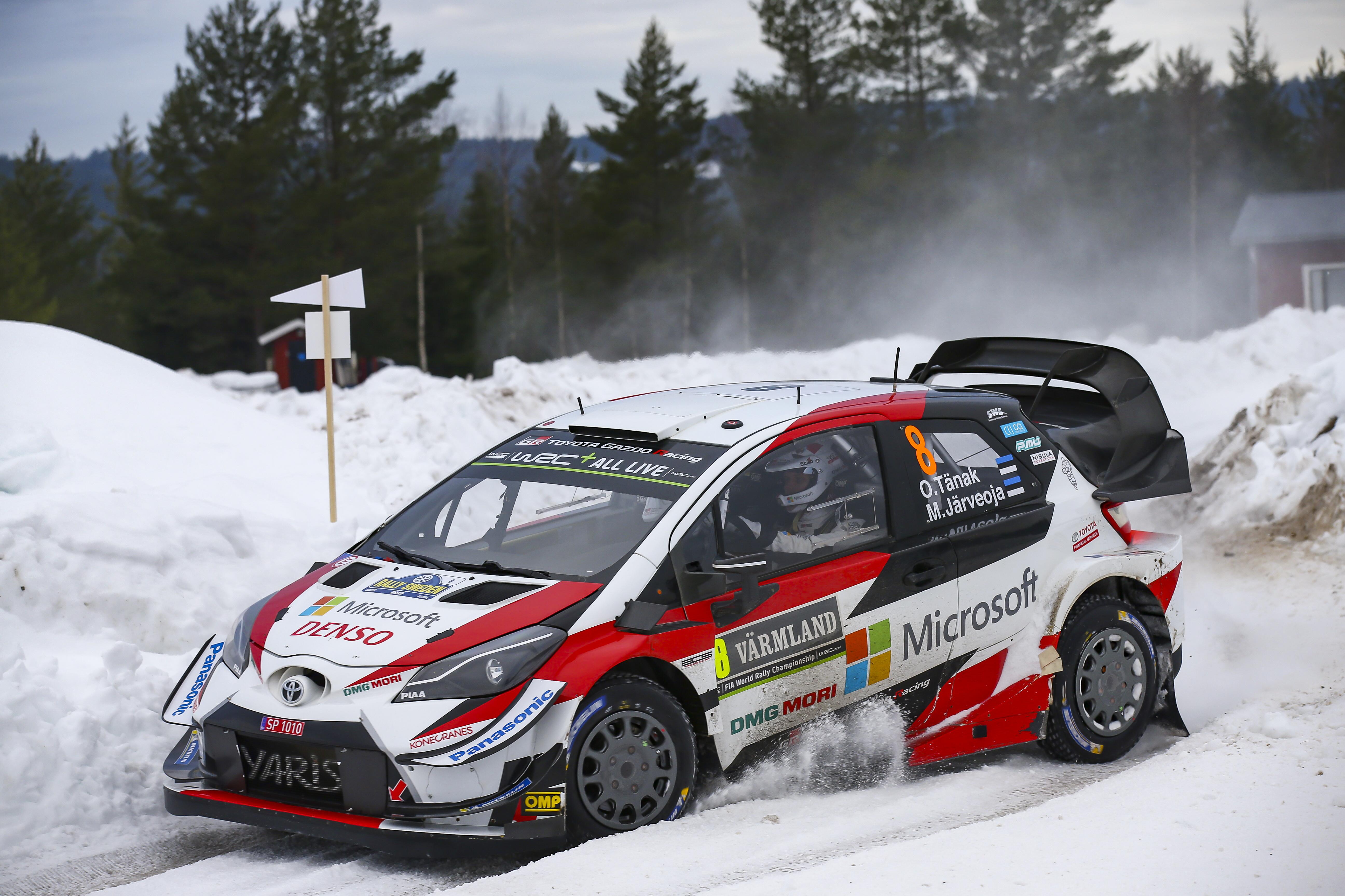 WRC - TÄNAK FÖLÉNYESEN HÚZTA BE A SVÉD RALIT, OGIER ELVÉRZETT
