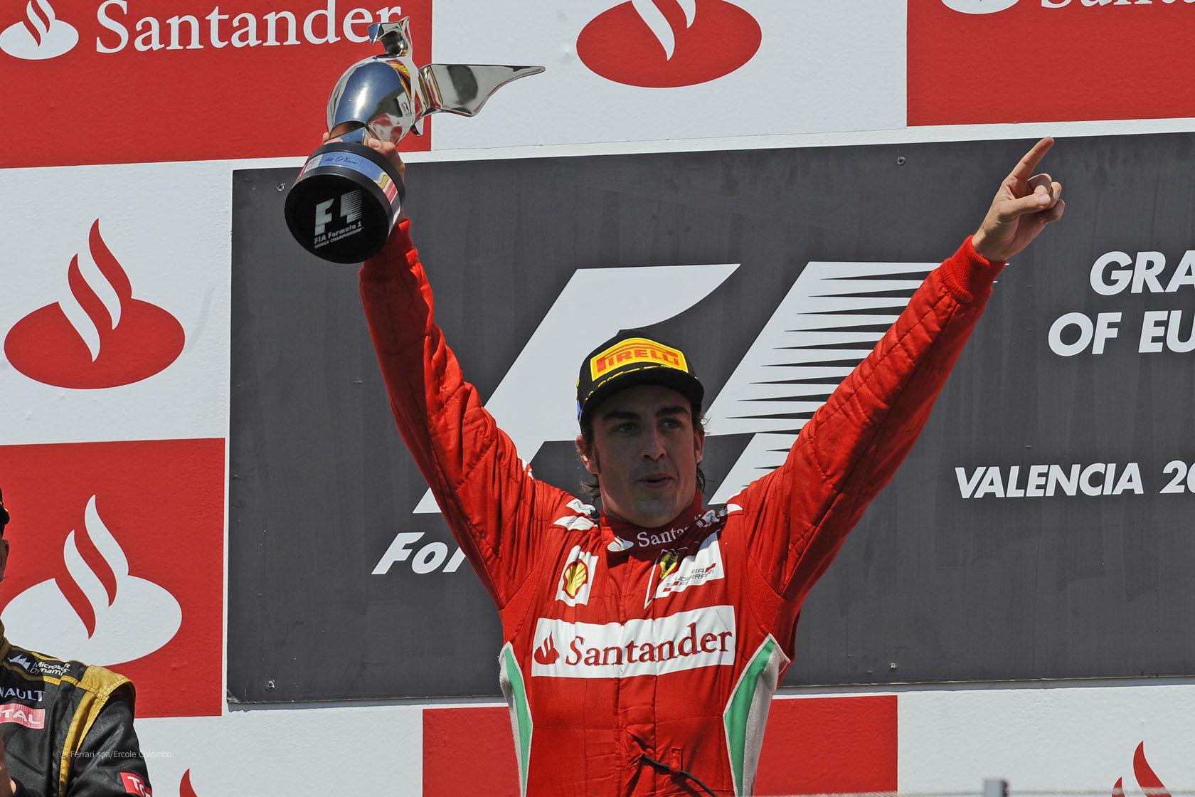 F1 - FERNANDO ALONSO LETT AZ EURÓPAI NAGYDÍJ NAGYKÖVETE