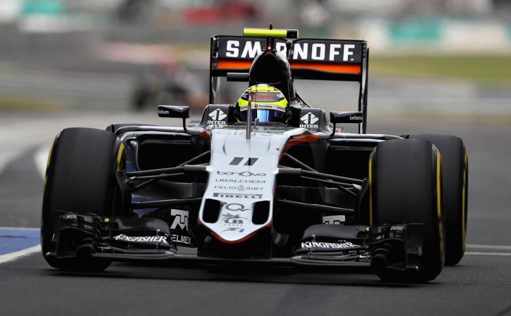 F1 - AUTOSPORT: PEREZ ELKÖTELEZTE MAGÁT A FORCE INDIA MELLETT 2017-RE