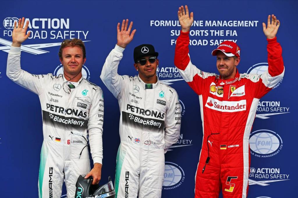 F1 - 2015 OSZTRÁK NAGYDÍJ: A RAJTRÁCS