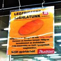 Ötletes hirdetés az Auchanban