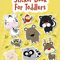 Sticker Book For Toddlers: Blank Sticker Book, 8 X 10, 64 Pages Mobi Download Book
