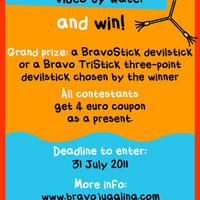 Bravo Juggling's summer devilstick contest