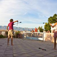 Bravo Juggling a tengerparton