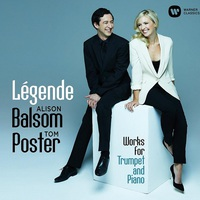 Alison Balsom & Tom Poster: Légende - works for trumpet and piano ajánló