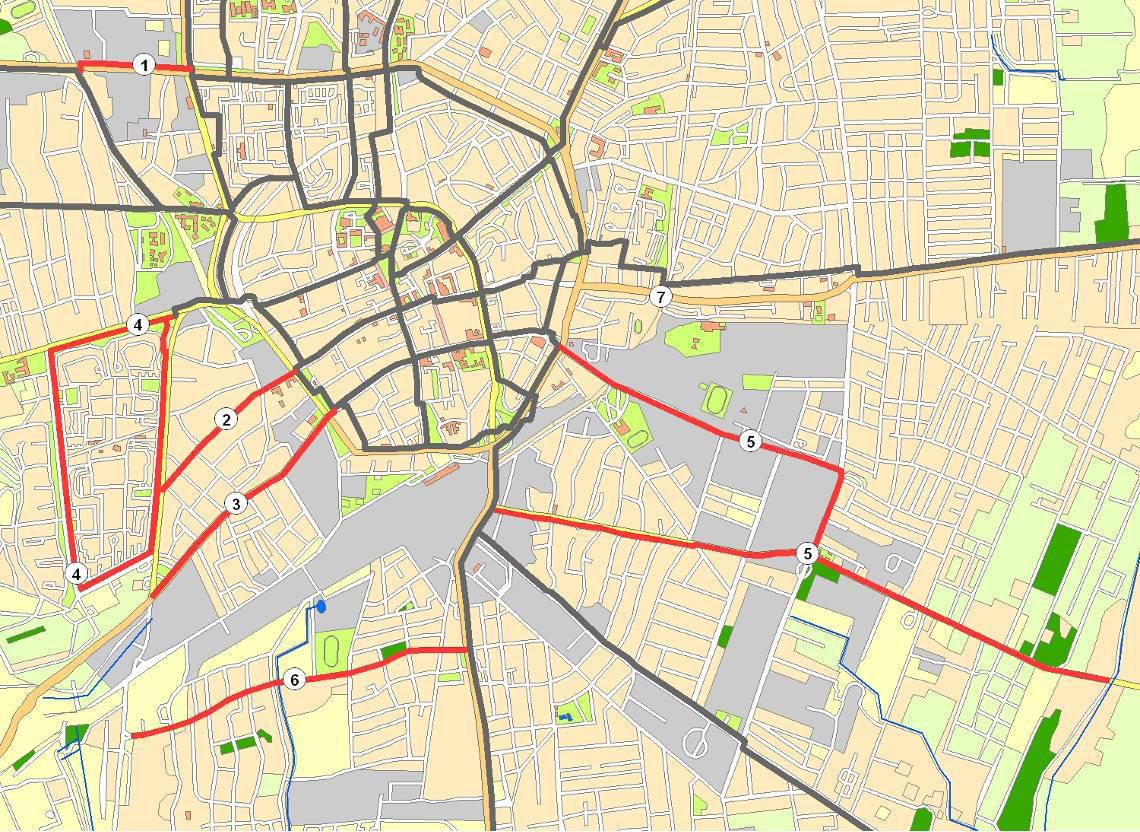 debrecen kerékpárút térkép Kerékpárút fejlesztés Debrecenben   BringaBuzi™ debrecen kerékpárút térkép