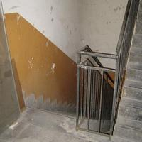 XXI. századi életforma egy XIX. században épült belvárosi házban_3_Cselédlépcső