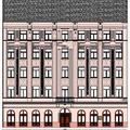 XXI. századi életforma egy XIX. században épült belvárosi házban_1_ Utcai homlokzat