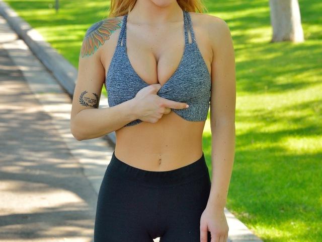 Charlotte futkorászik