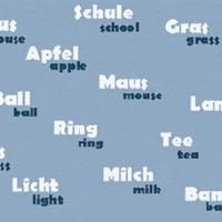 Angol szavak németesen, német szavak angolosan… szólista (660db) a két nyelv tanulóinak (A-G)