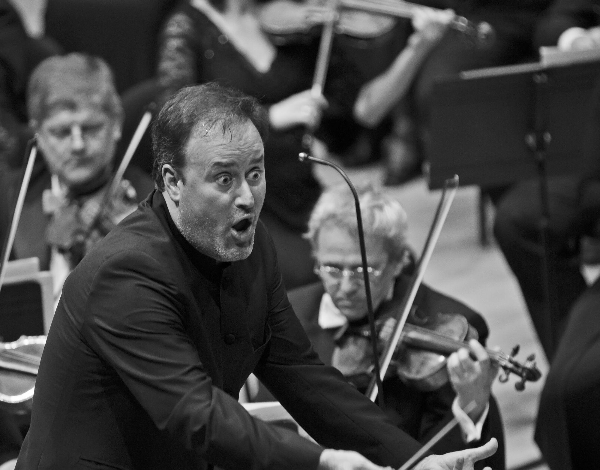 Karel Mark Chichon és a Budapesti Filharmóniai Társaság Zenekara © Posztós János