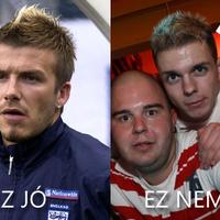 A Beckhames-frizura