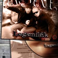 A Srácok A Putriból - Legendák LP / borító