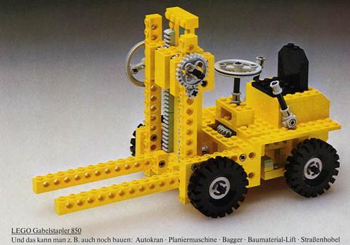 Első LEGO Technic készletek - 850