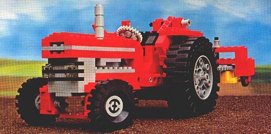 Első LEGO Technic készletek - 851