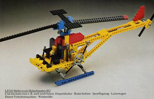 Első LEGO Technic készletek - 852