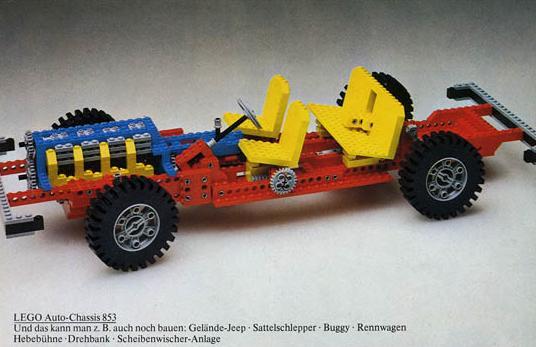 Első LEGO Technic készletek - 853