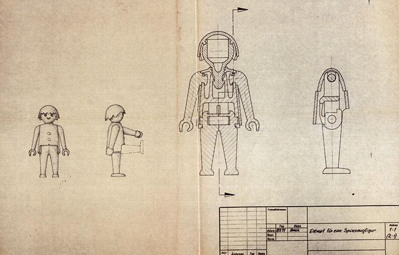 Hans Beck első Playmobil tervei