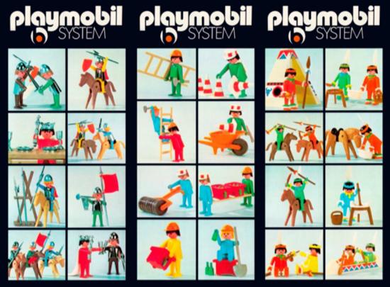 Első Playmobil készletek