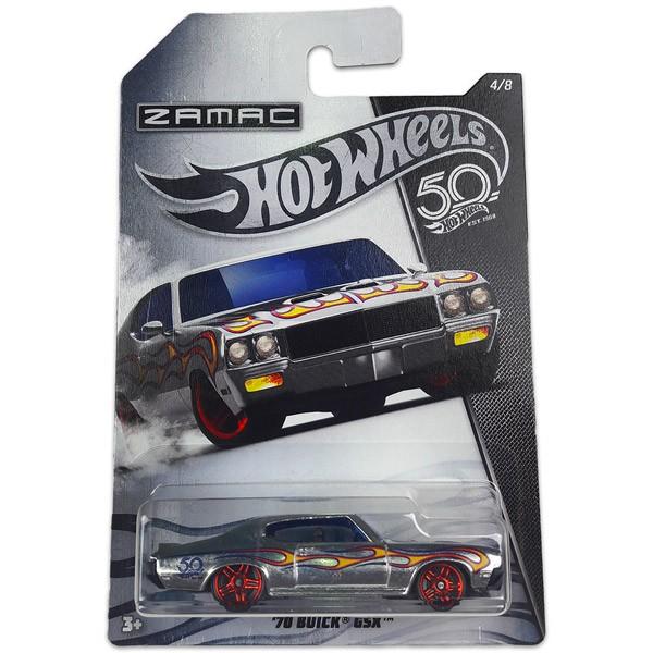 Hot Wheels 50. Születésnapi kisautó - '70 BUICK GSX 4/8