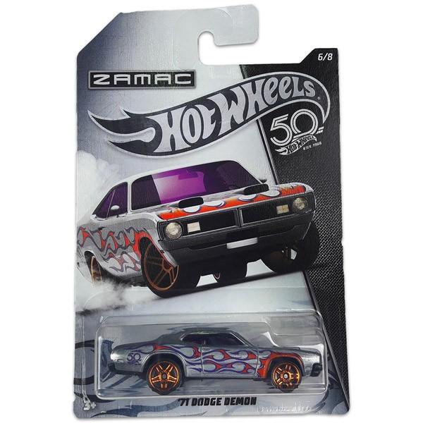 Hot Wheels 50. Születésnapi kisautó - '71 DODGE DEMON 6/8