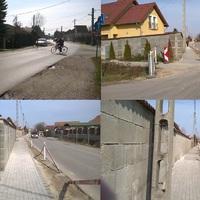 BERUHÁZÁST SZEMLÉLVE: A Csépi úti járda