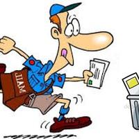 Nem kézbesítő postás: Azért nem kézbesítek leveleket, mert a pihenő idő és a hűsítés engem is megillet! (Hol jön a kettő össze?)