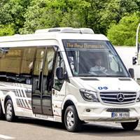 Volánbuszhoz fordulva: Mercedes Sprinter City 77 buszt kérünk Önöknek, hogy Bucka busz lehessen!