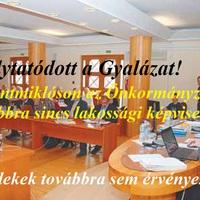 Képviselő testületi ülés margójára: FOLYTATÓDOTT A GYALÁZAT!