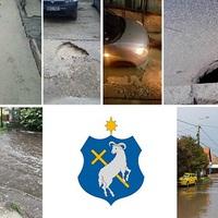 Nem létező csapadékvíz elvezetés! Árvíz, kimosott talaj, beszakadó úttestek! Itt az ideje az azonnali felméréseknek!