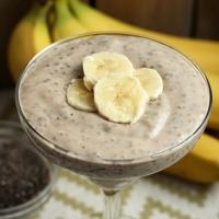 Glutén-, tej-, tojásmentes vitamin bomba: Banános chia puding