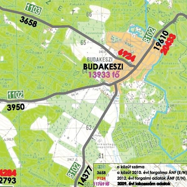 budakeszi térkép Zsúfolt utak, stresszes reggelek   Budakeszi Blog budakeszi térkép