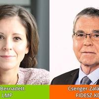 Csenger-Zalán Zsolté lett a parlamenti mandátum, de Budakeszin Szél Bernadett nyerte a párharcot