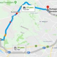 Budakeszi közlekedését az áthaladó forgalom uralja