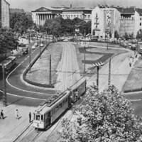 A Kálvin tér a 70-es évek elején