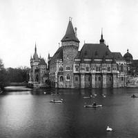 A Vajdahunyad vára 1900 körül