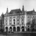 A Drechsler-palota - a későbbi Állami Balett Intézet - épülete az 1890-es évek elején