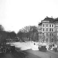 A Lövölde tér az 1900-as évek elején