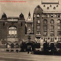 A József Távbeszélő Központ 1916 körül