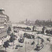 A Szent Gellért tér a 30-as években