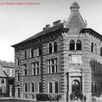 A Markó utcai mentőszékház az 1890-es években