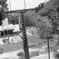 A Libegő alsó végállomása a 70-es években