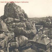 Az Állatkert Nagysziklája a 30-as években