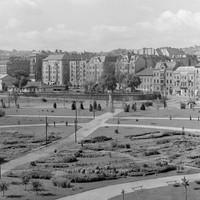 A Vérmező és a Déli Pályaudvar 1953-ban