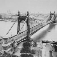 A régi Erzsébet híd 1903-ban