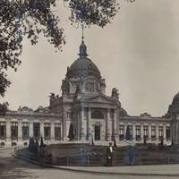 A Széchenyi Fürdő épülete az 1920-as években