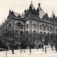 A Földtani Intézet palotája a századelőn