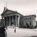 A Műcsarnok épülete a századelőn