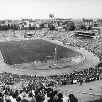 A Népstadion a 60-as években