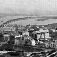 A Szent Gellért tér és a Bartók Béla út az 1900-as évek elején